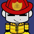Firefighter HERO'BOT Toy Robot 1.0 by Carbon-Fibre Media