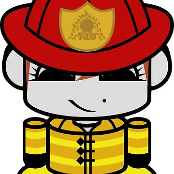 HERO'BOT Firefighter Daniella Cotton by carbonfibreme