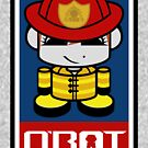 Firefighter HERO'BOT Toy Robot 2.1 by Carbon-Fibre Media