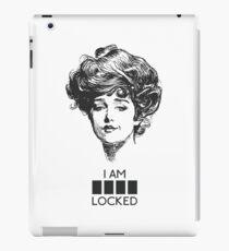 I AM LOCKED iPad Case/Skin