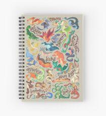 Mini-Drachen-Kompendium Spiralblock