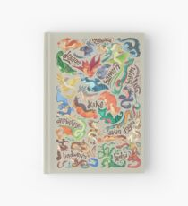 Mini dragon compendium  Hardcover Journal