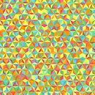 Colorful Geometric Art by Olga Chetverikova
