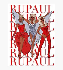 Changin' the game like my name's RuPaul Photographic Print