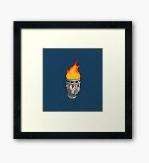 Hot Stuff Alone Framed Print