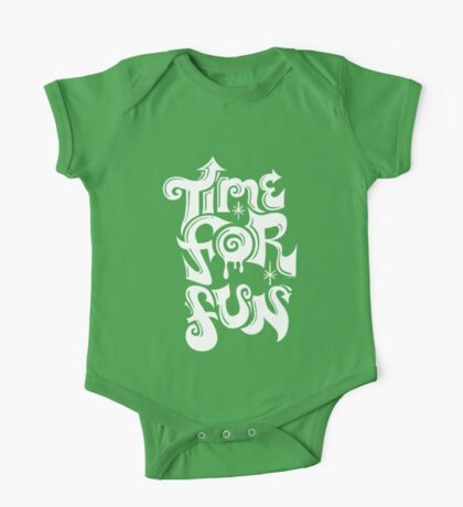 Time for fun - on darks Kids Clothes