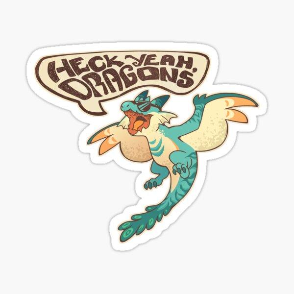 Heck yeah boy Sticker