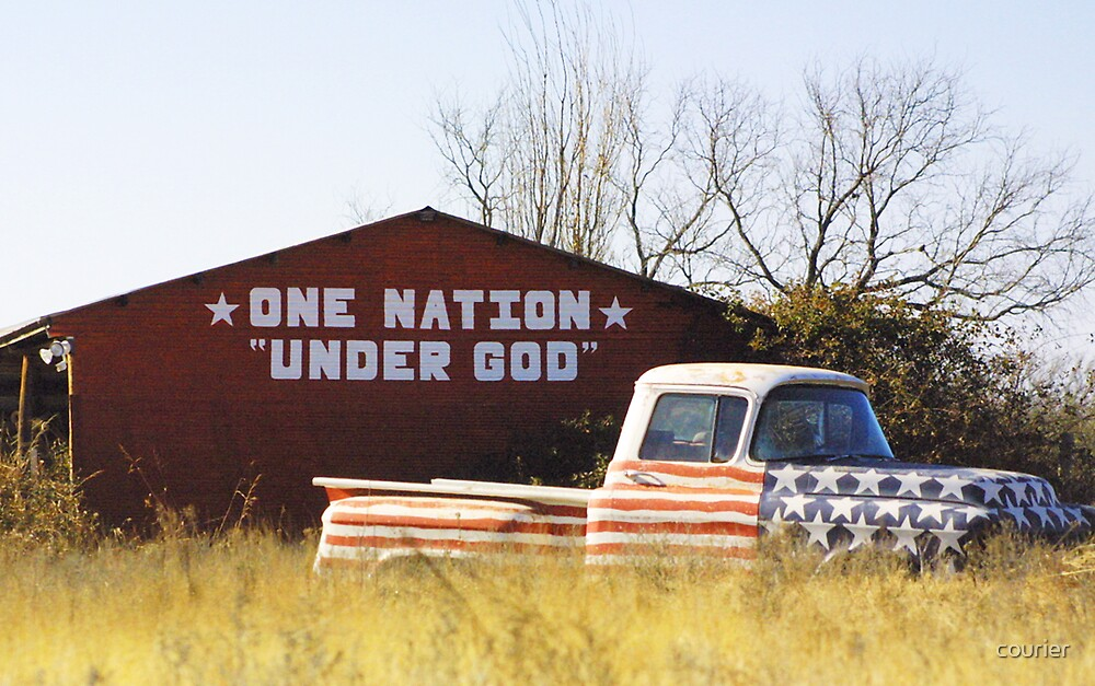 As American as... by courier