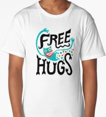 Free Hugs Long T-Shirt