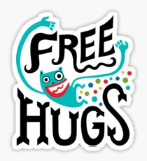 Free Hugs Sticker