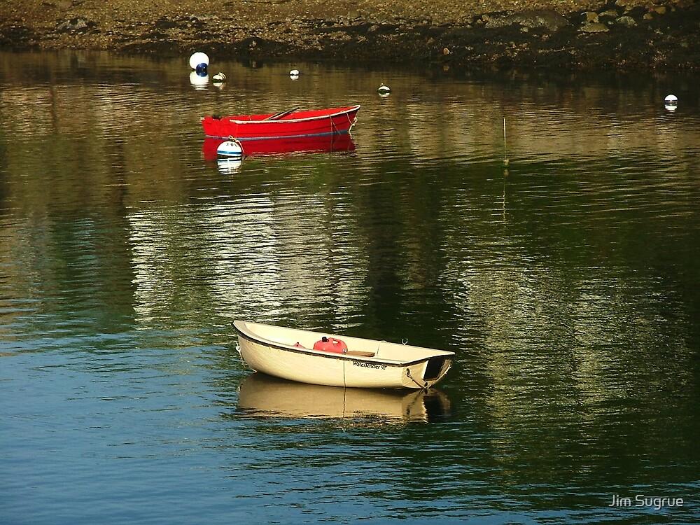 little boats by Jim Sugrue