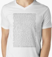 Lyrics to All Star T-Shirt