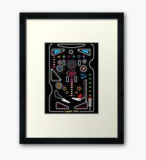 Pinball Framed Print