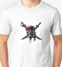 Pirattes of the Caribbean logo Unisex T-Shirt