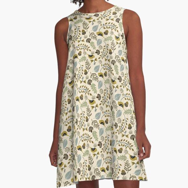 Woodlands Fantasy A-Line Dress
