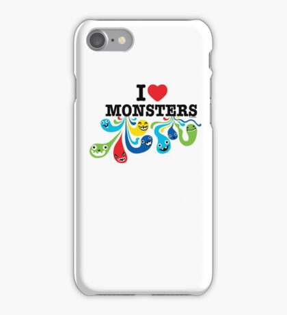 I Heart Monsters iPhone Case/Skin