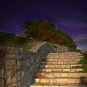 The stairway by adriano