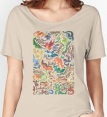 Mini dragon compendium  Women's Relaxed Fit T-Shirt