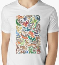 Mini dragon compendium  V-Neck T-Shirt