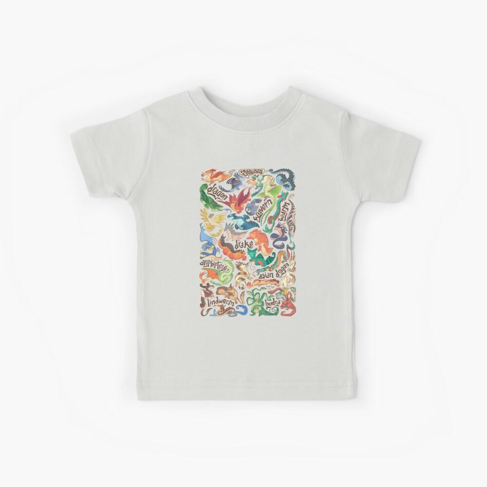 Mini dragon compendium  Kids T-Shirt