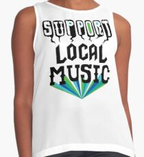 Support Local Music Contrast Tank