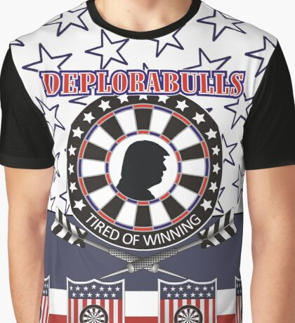 DeploraBulls Darts Shirt Graphic T-Shirt