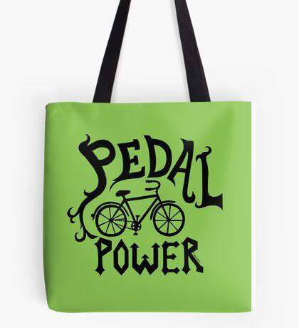 Pedal Power Tote Bag