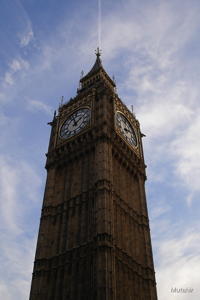 Big Ben by Mutahir