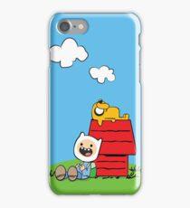 Peanuts time iPhone Case/Skin
