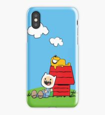 Peanuts time iPhone Case