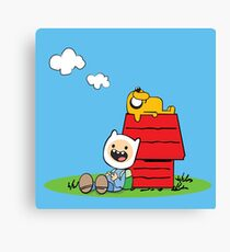 Peanuts time Canvas Print
