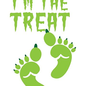 I'm the TREAT with cute ogre feet READY for HALLOWEEN! by jazzydevil