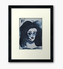 Madam Insane Framed Print