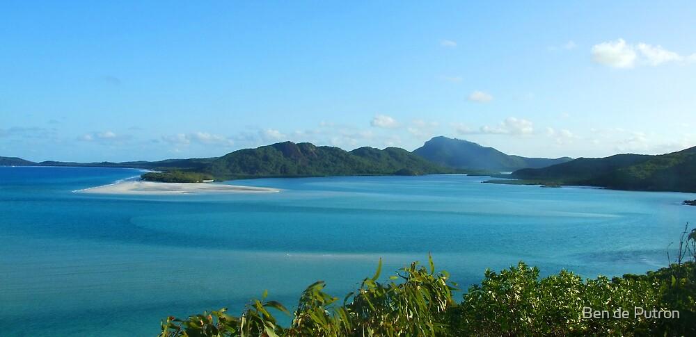 View from Whitsunday Island by Ben de Putron