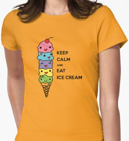 Keep Calm and Eat Ice Cream 1 T-Shirt