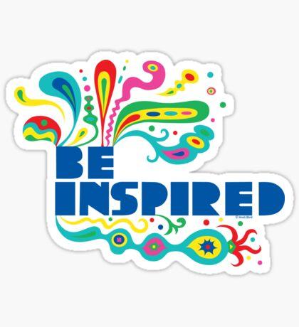 Be Inspired Sticker