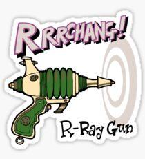 Raygun R Sticker