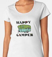 Happy Camper Women's Premium T-Shirt