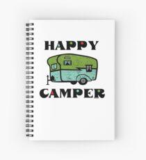 Happy Camper Spiral Notebook