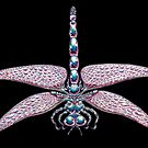 Chrome dragonfly by Derek Mullins