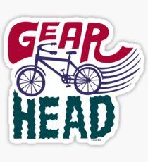 Gearhead - colored Sticker