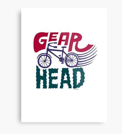Gearhead - colored Metal Print