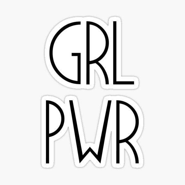 GRL POWER Sticker