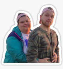 Elijah and Christine Sticker