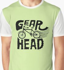 Gearhead -  black   Graphic T-Shirt