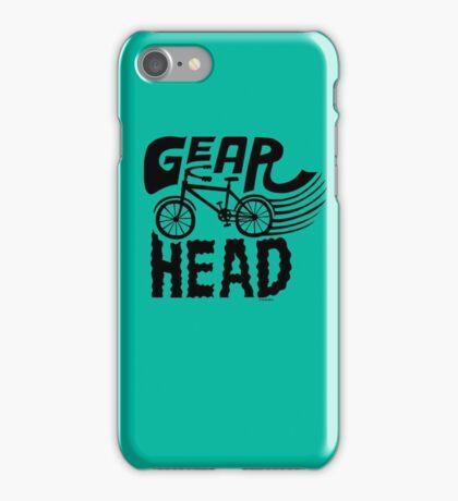 Gearhead -  black   iPhone Case/Skin