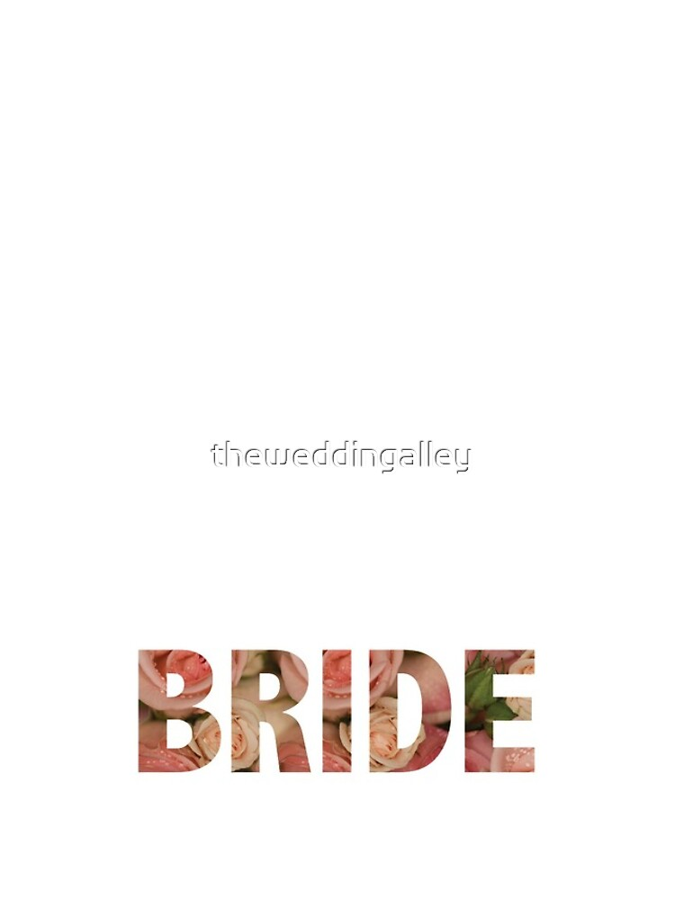 Rosey Bride by theweddingalley