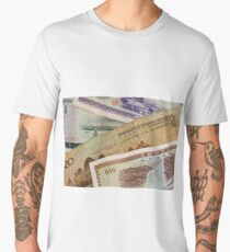 A close up of old chinese money Men's Premium T-Shirt