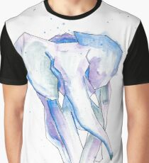 Charging Elephant Graphic T-Shirt