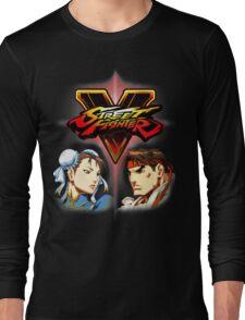 Street Fighter - Chun-li & Ryu Long Sleeve T-Shirt